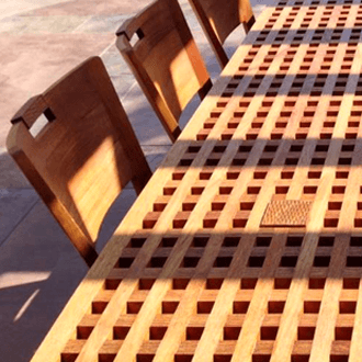 custom furniture table chairs garden design