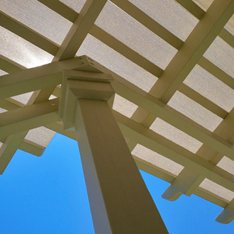 custom woodworking shade pergola dramatic 330
