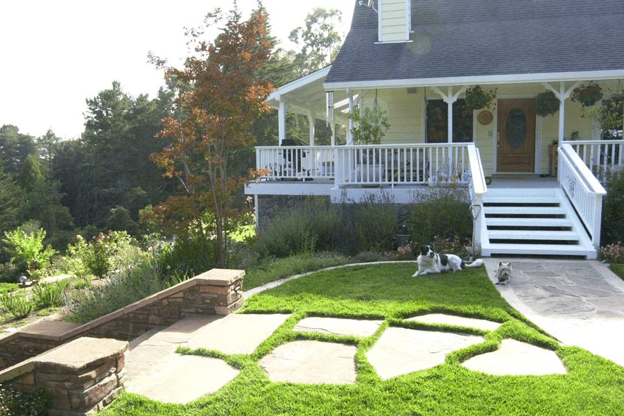 landscape architect designer custom garden stone | Elemental Design Group