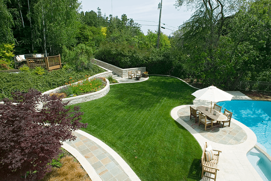 Designer pool san jose elemental design group for Landscape design san jose
