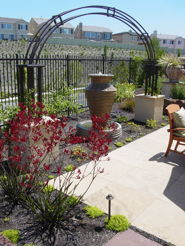 Patio Landscape Design Elemental Design Group