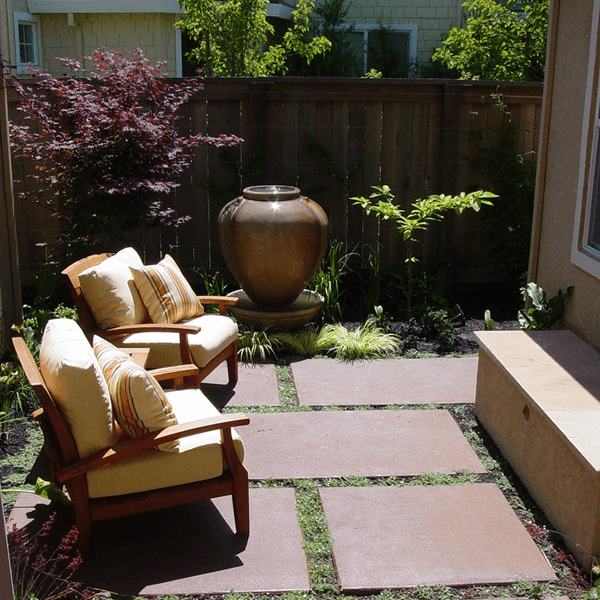 Small space garden design san jose elemental design group - Small space garden design property ...