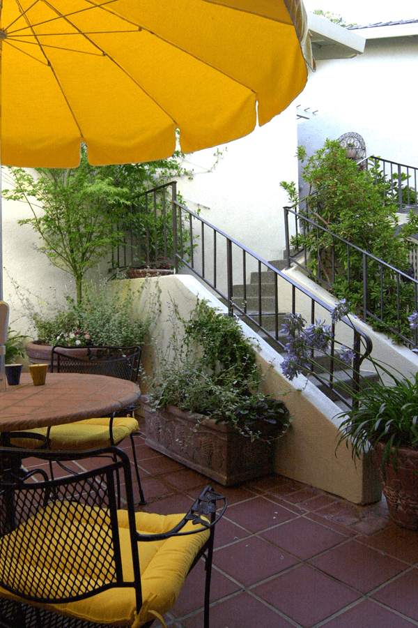 Small patio garden design san jose elemental design group for Landscape design san jose