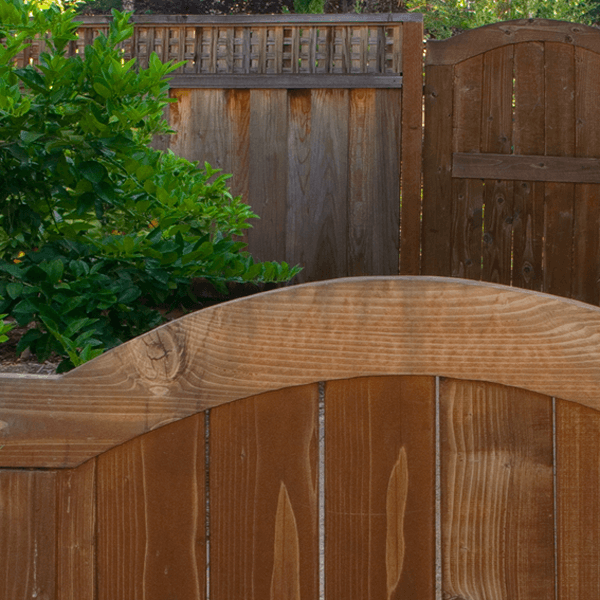landscape design architecture custom wooden gate