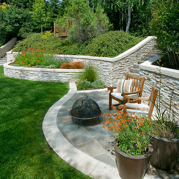landscape garden design architect custom stone
