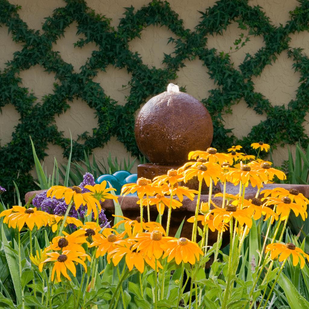 magical landscape architecture gardens color pop